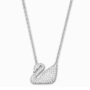 Swarovski swan crystal necklace